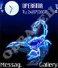 Неоновый скорпион