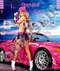 Девушка из розового авто