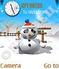 Лупоглазый снеговичок