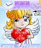 Влюбленный ангелочек