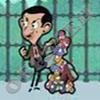 Mr. Bean собирает мусор