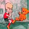 Малыш и Карлсон, Знакомство