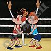Метеор на ринге, Бой без правил